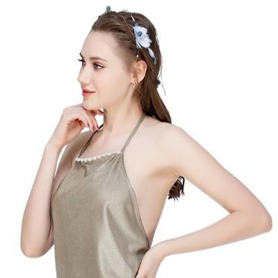 上班怀孕期围裙四季防辐射银纤维内穿隐形肚兜